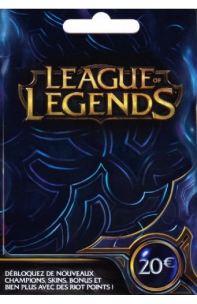 League of Legends RP Card (EU) 20 EUR