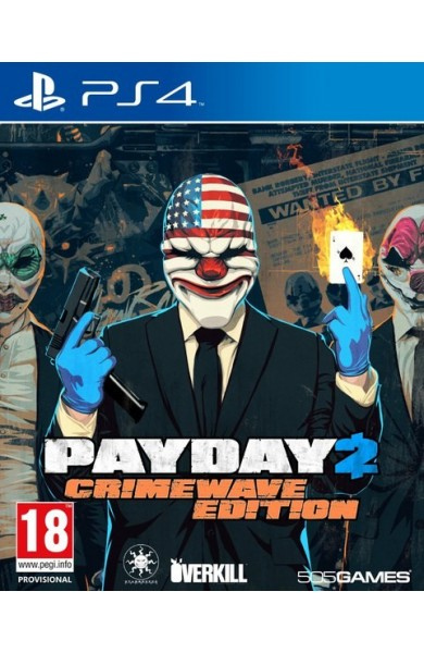 PAYDAY 2: CRIMEWAVE EDITION. INSTANT DOSTAVA SA PayPal/Credit Card