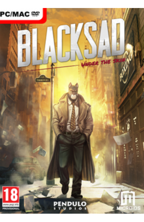 Blacksad: Under The Skin - Steam Global CD KEY