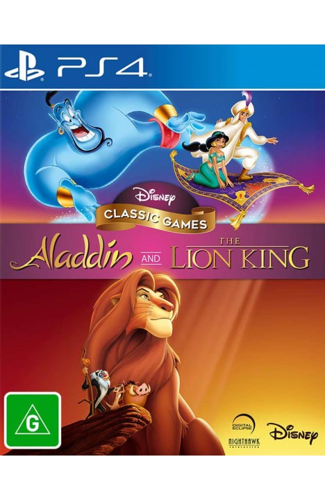 Disney Classic Games: Aladdin And The Lion King INSTANT DOSTAVA SA PayPal/Credit Cards