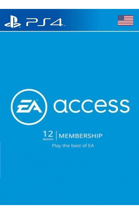 EA Access 12 Month PS4 (US)