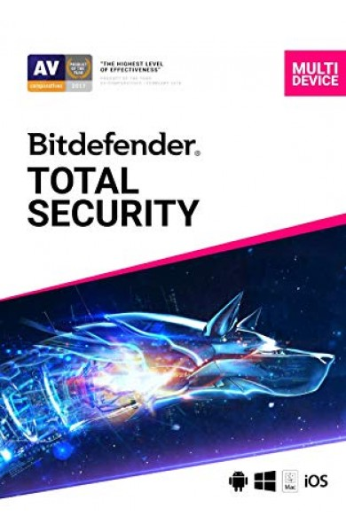 Bitdefender Total Security 2019/2020 180 days 5 PCs