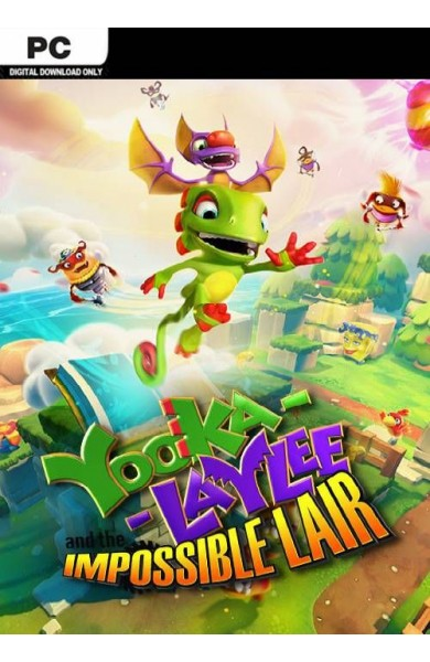 Yooka-Laylee and the Impossible Lair - Steam Global CD KEY
