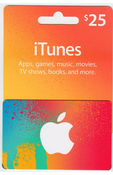 iTunes Gift Card $25 (USA)