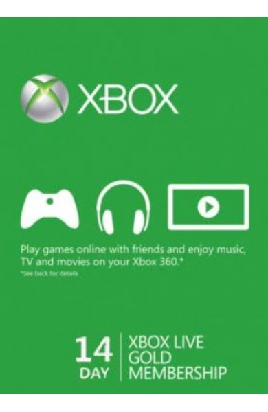 Xbox Live 14 Days Gold Trial